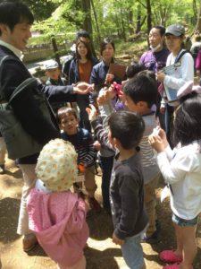 黒川清流公園にて事業を開催しました。